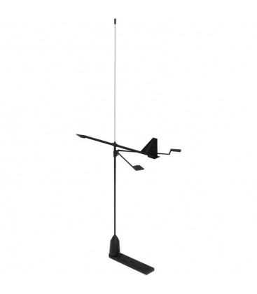 Shakespeare YHK stainless steel whip VHF antenna